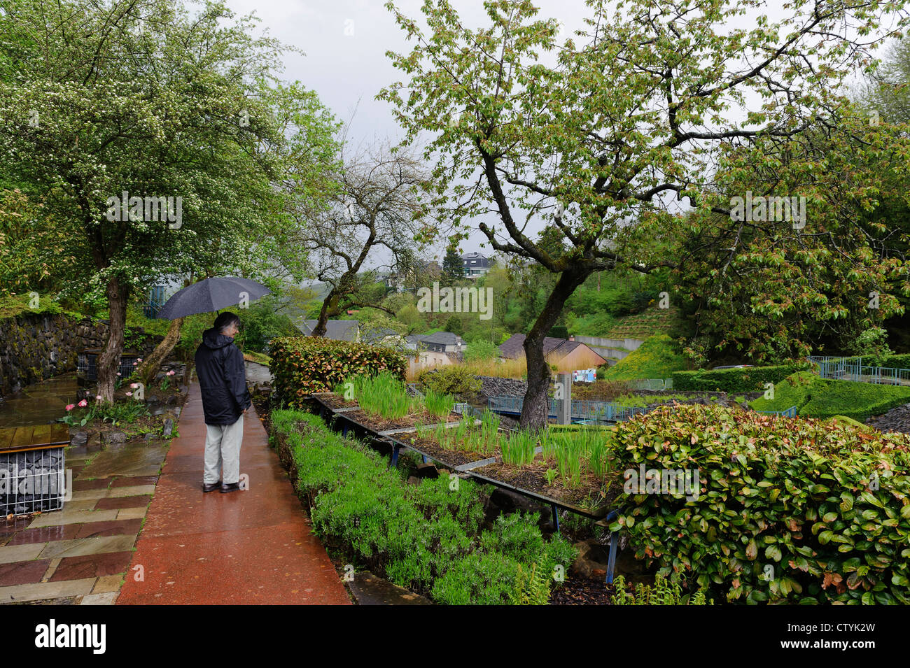 Park Jardin de Wiltz, Luxembourg - Stock Image
