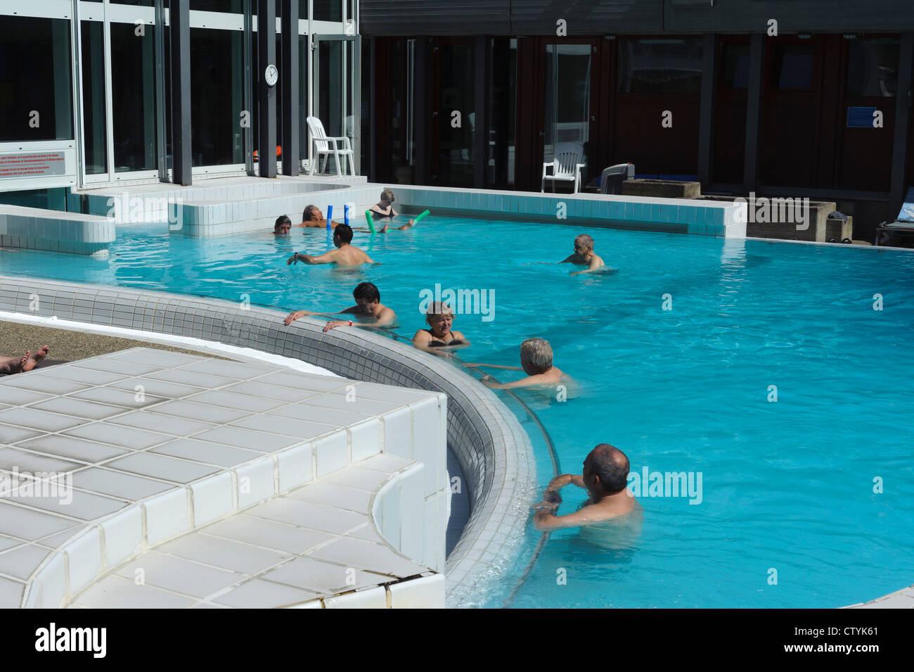 Spa Mondorf Les Bains Luxembourg Stock Photo 49780249 Alamy