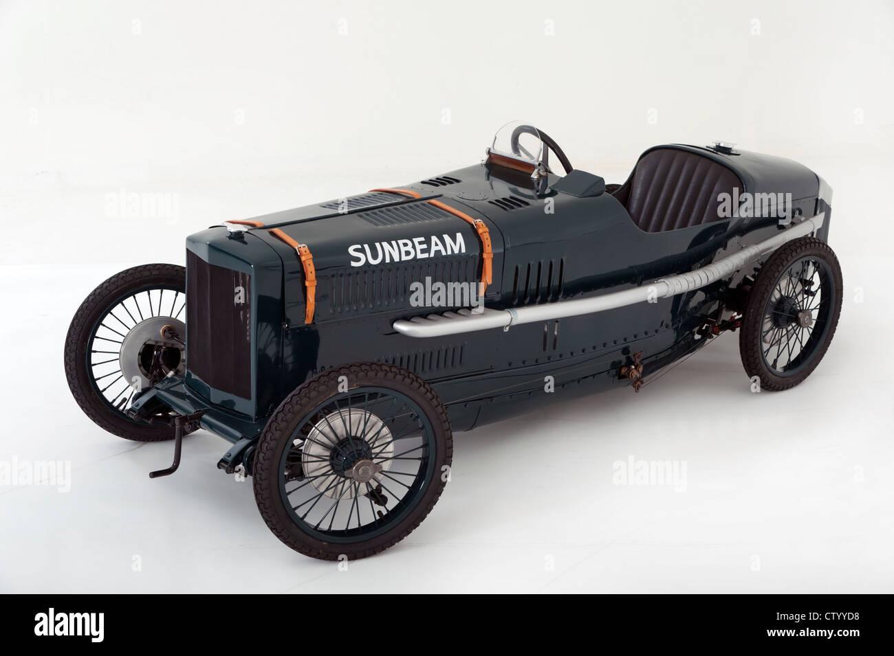 Sunbeam Cub child's motorised pedal car replica - Stock Image