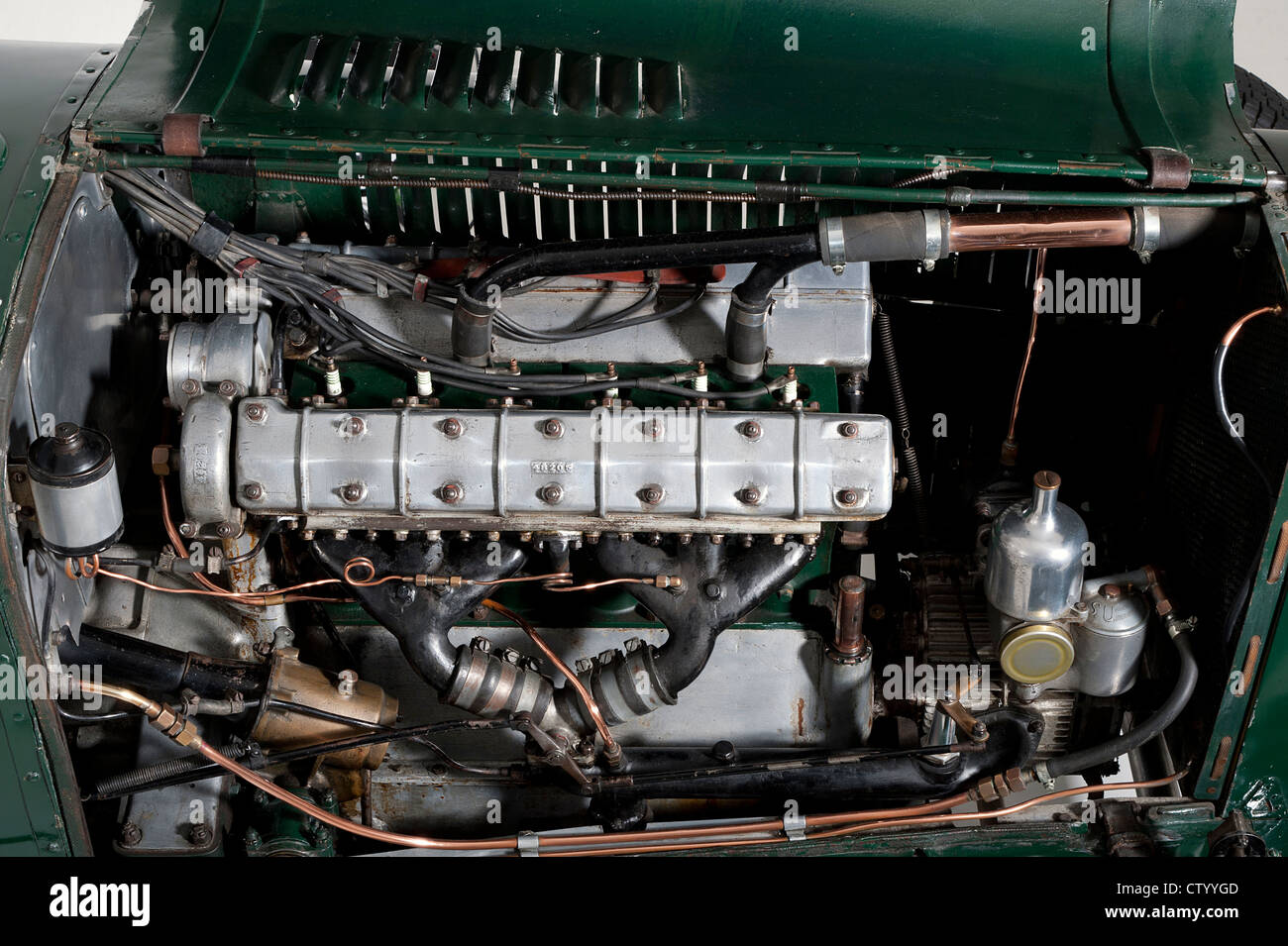 Sunbeam Cub 2 litre 1924 engine - Stock Image
