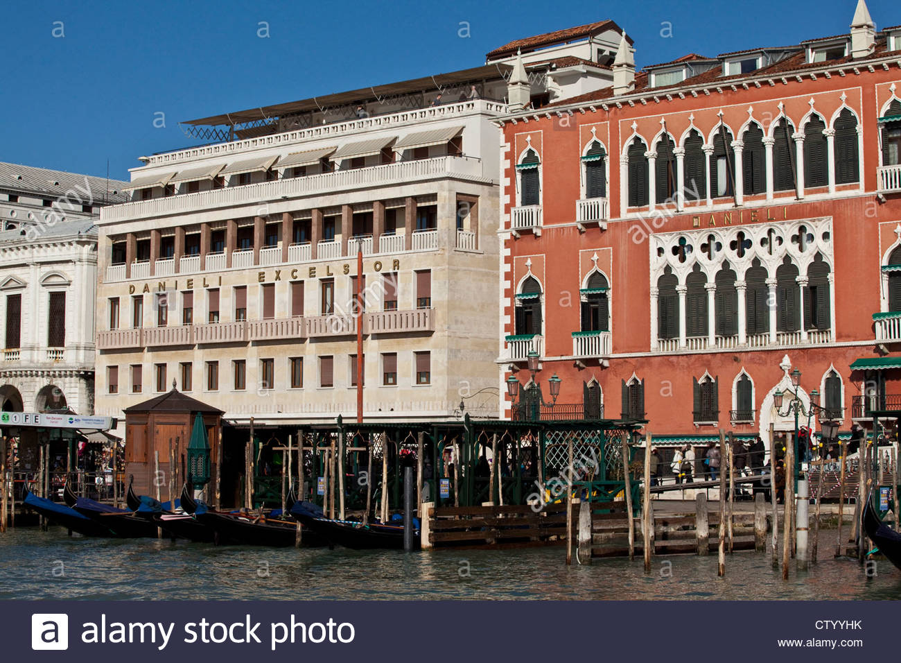 The Danieli And Danieli Excelsior Hotels Venice Italy