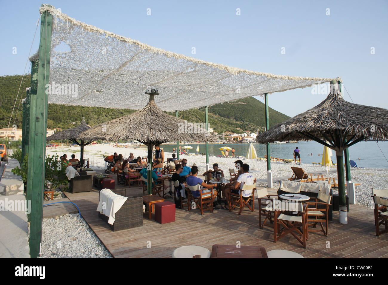Vasiliki Beach Lefkada. Greece - Stock Image