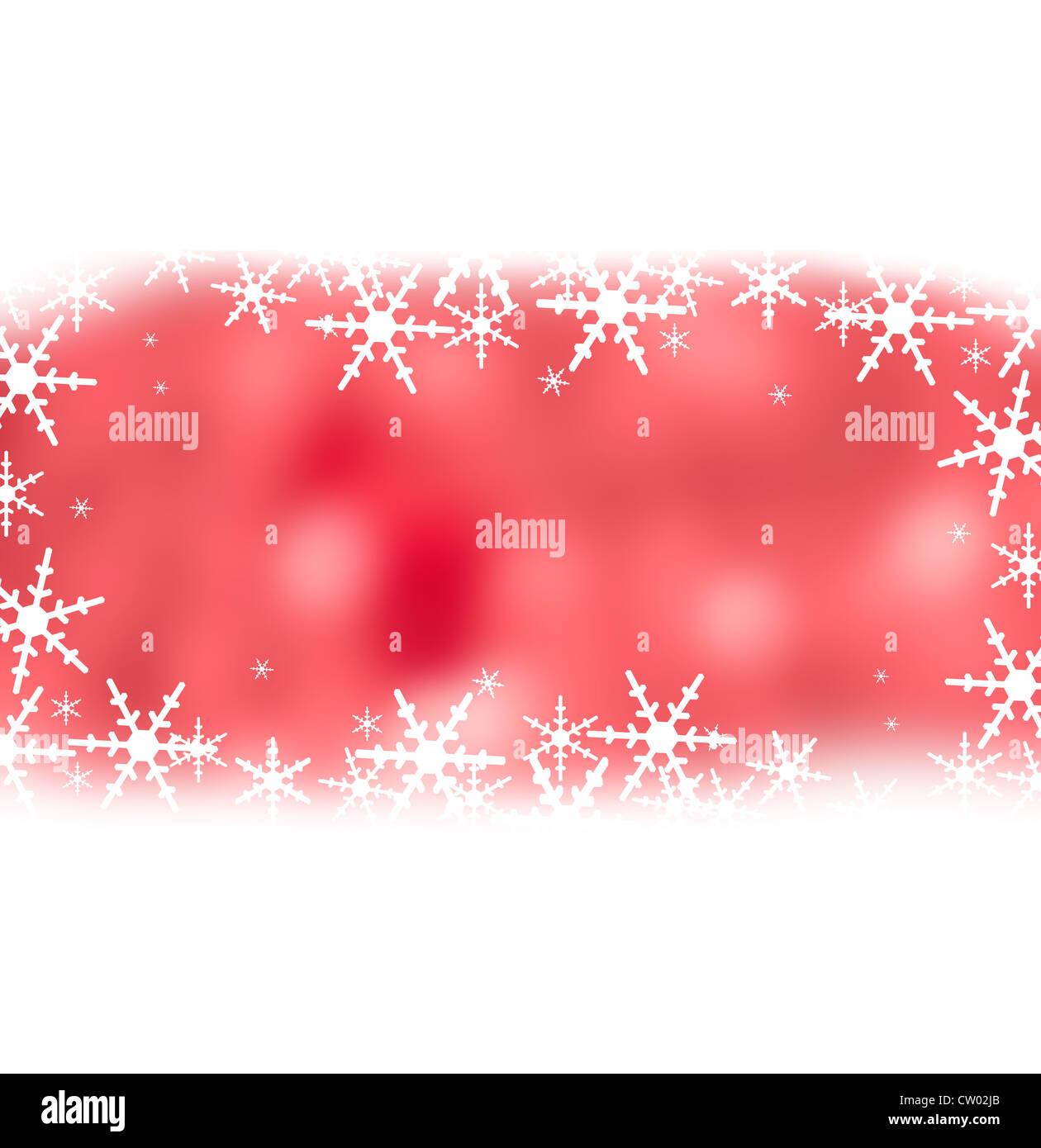 Crystal christmas background - Stock Image