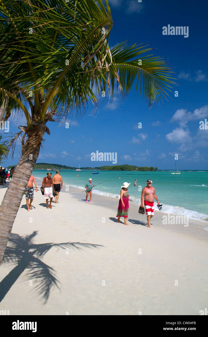The Gulf of Thailand at Chaweng beach on the island of Ko Samui, Thailand. - Stock Image