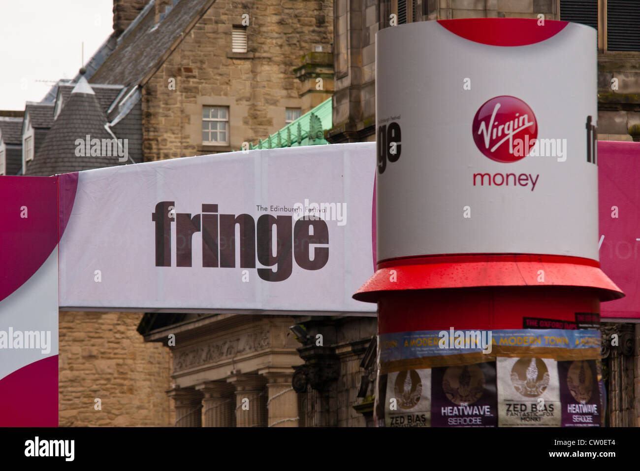 Edinburg Festival Fringe - Stock Image