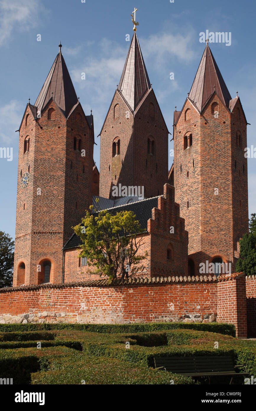 Denmark Sjaelland Kalundborg, Our Lady's church - Stock Image