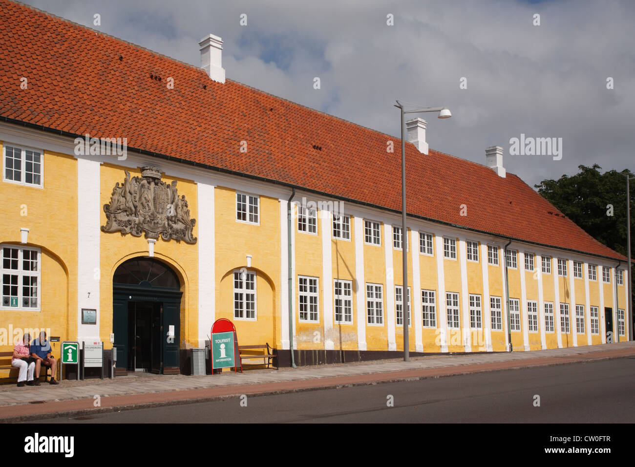 Denmark Sjaelland Kalundborg, Bishop's palace - Stock Image