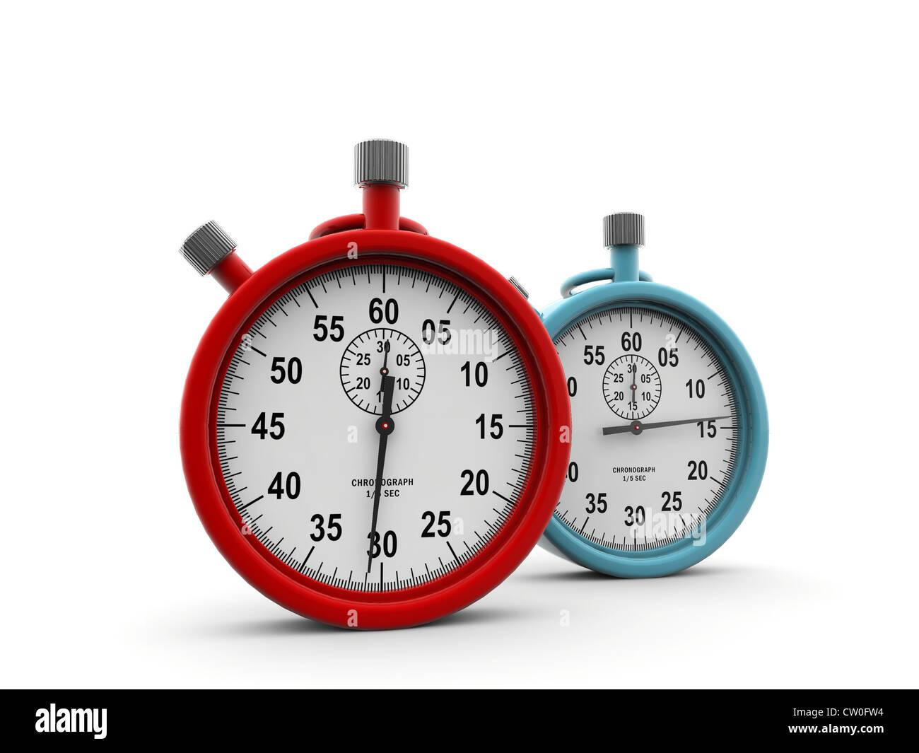 chronometers - Stock Image