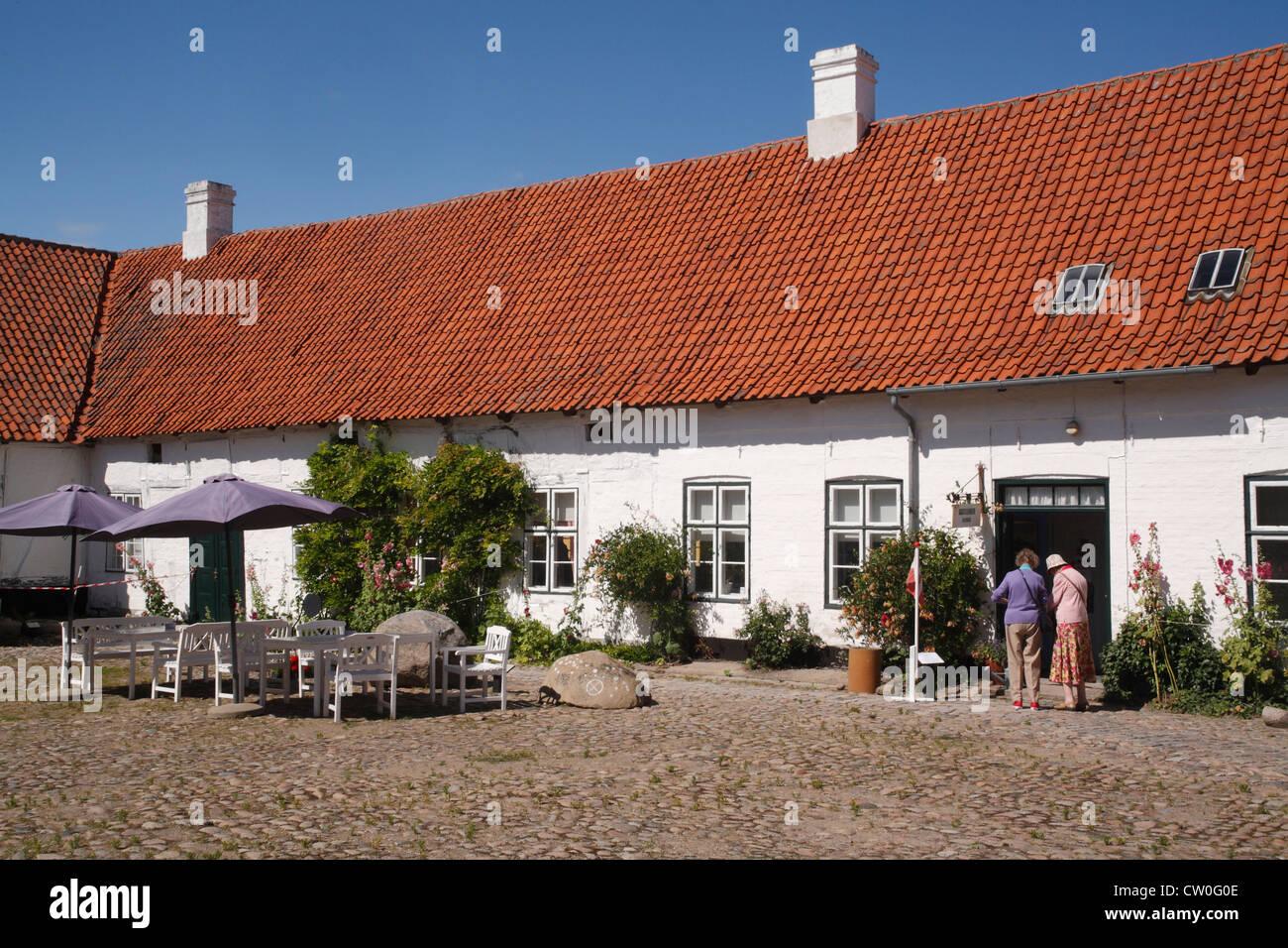 Denmark Sjaelland Kalundborg, museum - Stock Image
