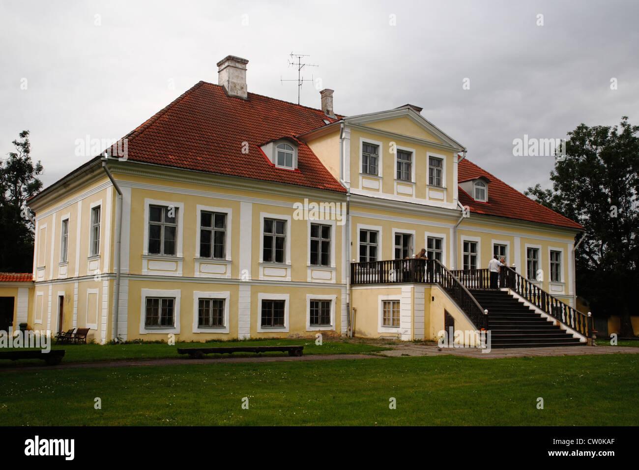 Estonia Tallinn, Sauer manor - Stock Image