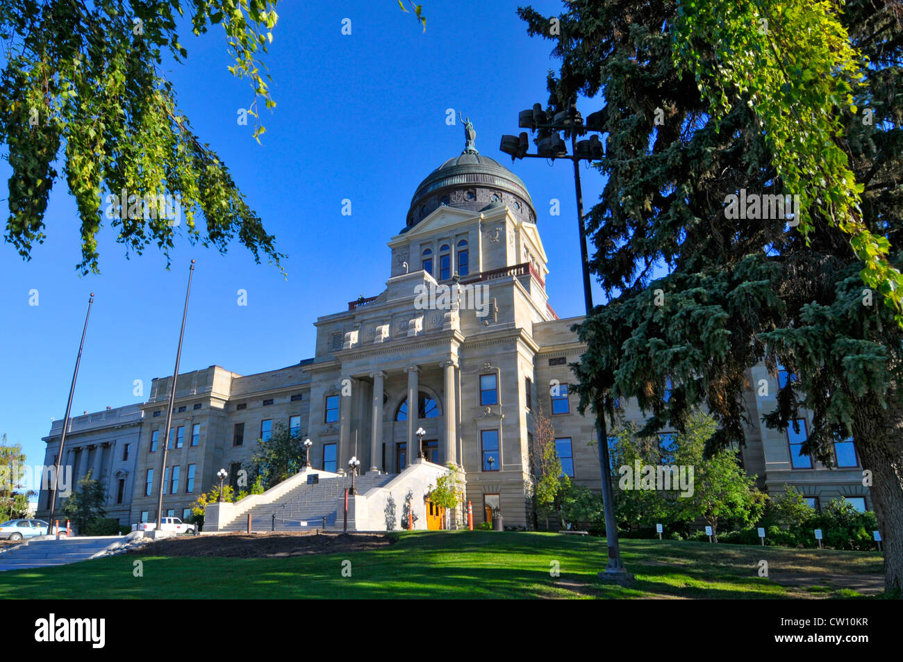 Montana State Capitol Building Helena MT US Stock Photo