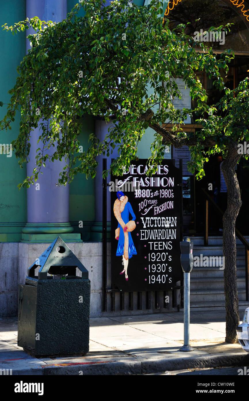 Haight-Ashbury, San Francisco CA - Stock Image