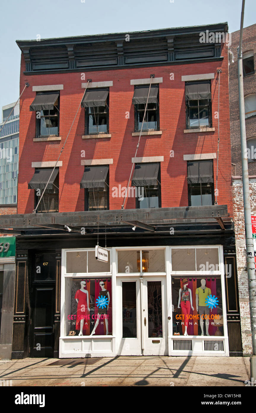 Trina Turk Fashion  Meatpacking District  Manhattan New York City United States of merica - Stock Image