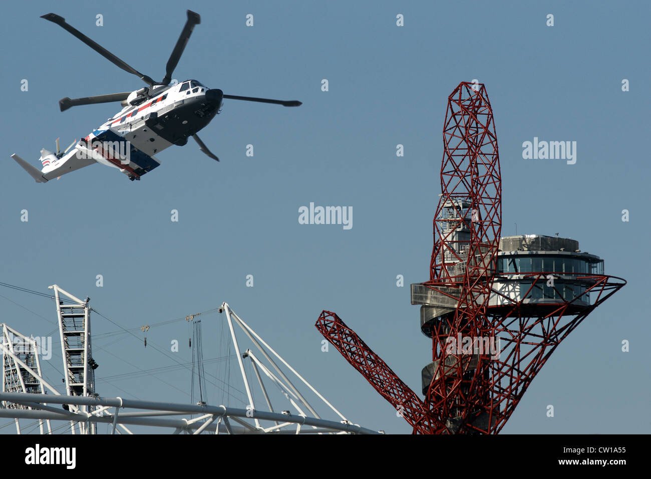 ArcelorMittal Orbit tower, London - Stock Image
