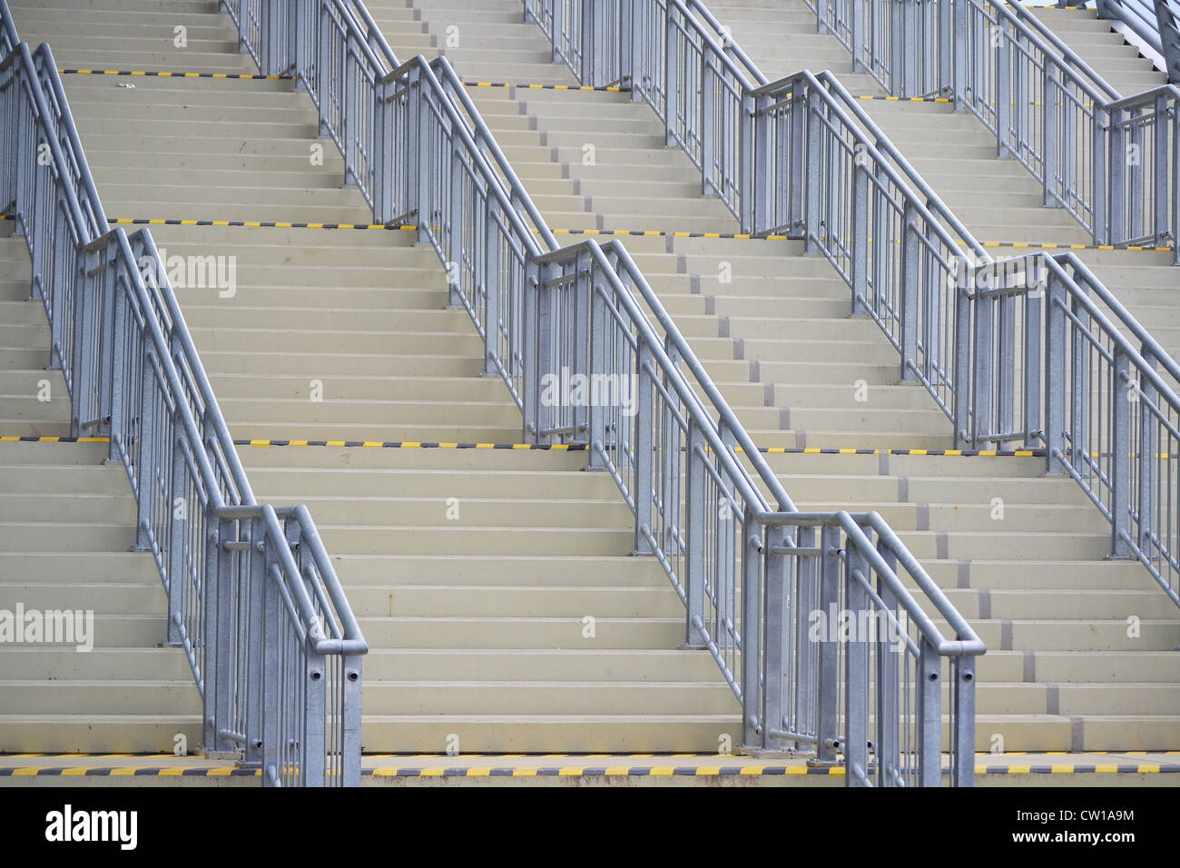 Stairs in public space - Stock Image