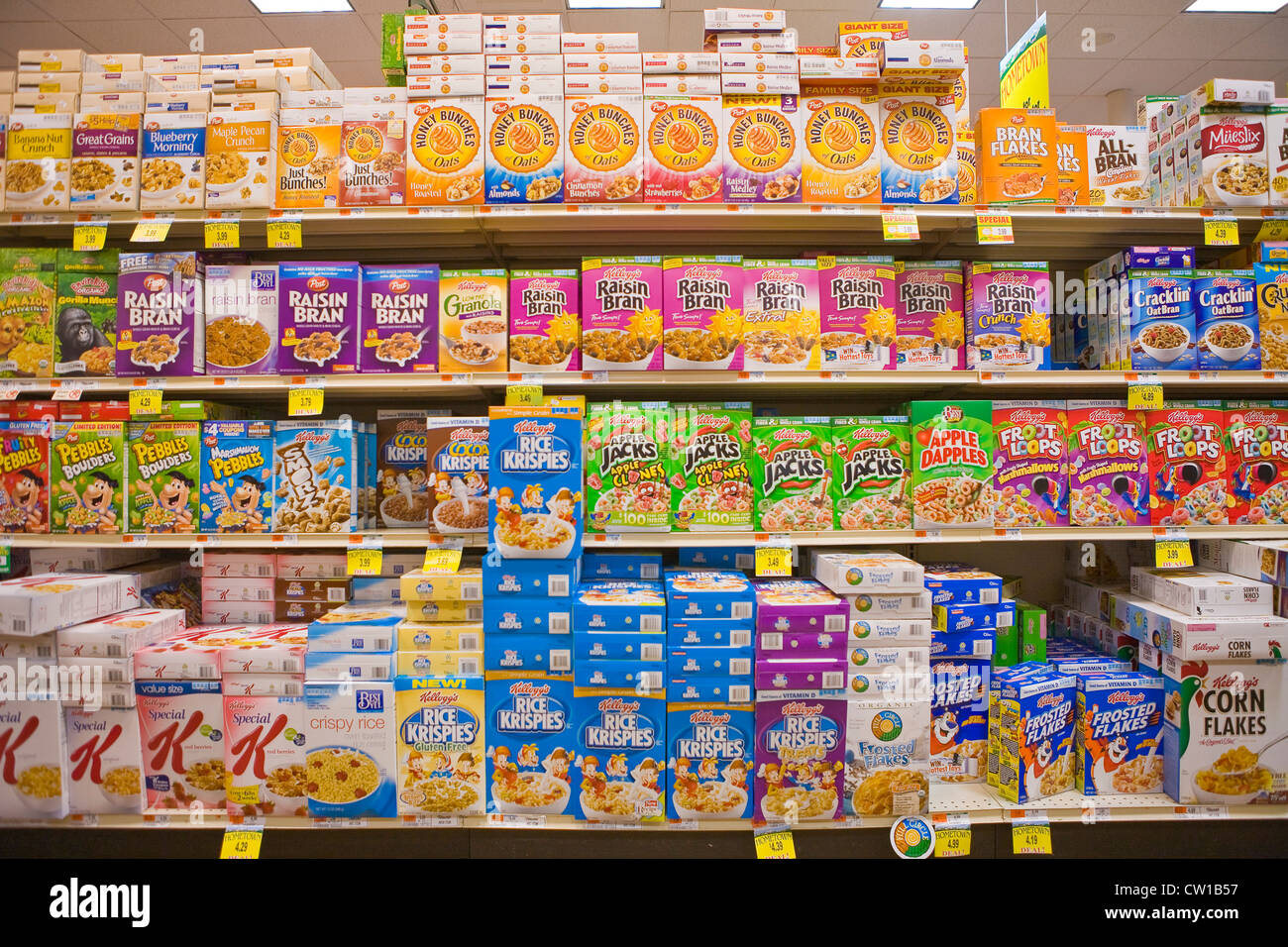 How to store cereals 1