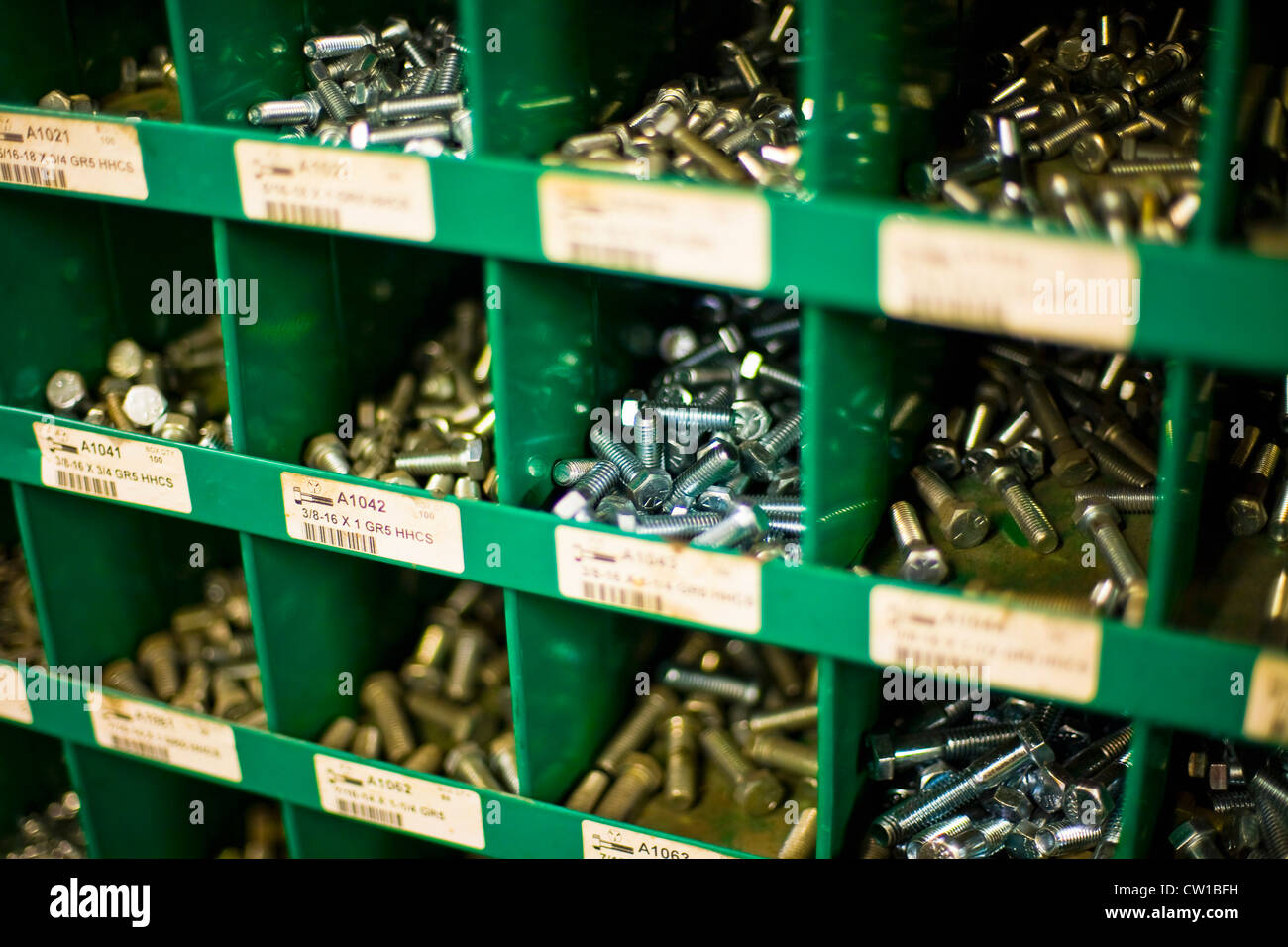 Nuts and Bolts in Hardware Store Stock Photo: 49818149 - Alamy