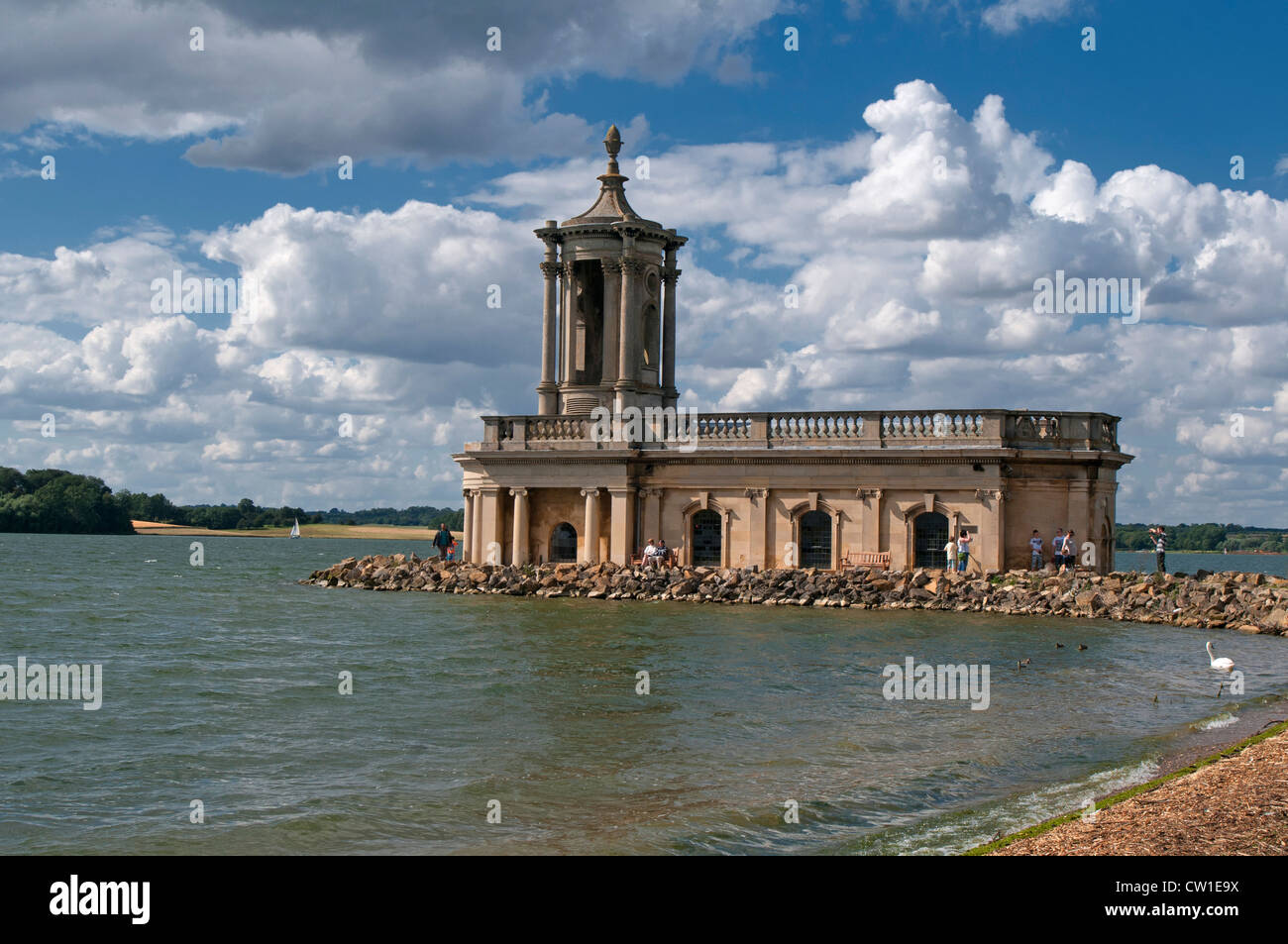 The Normanton Church Museum at Rutland Water, Nr Oakham Leicestershire, England, UK - Stock Image