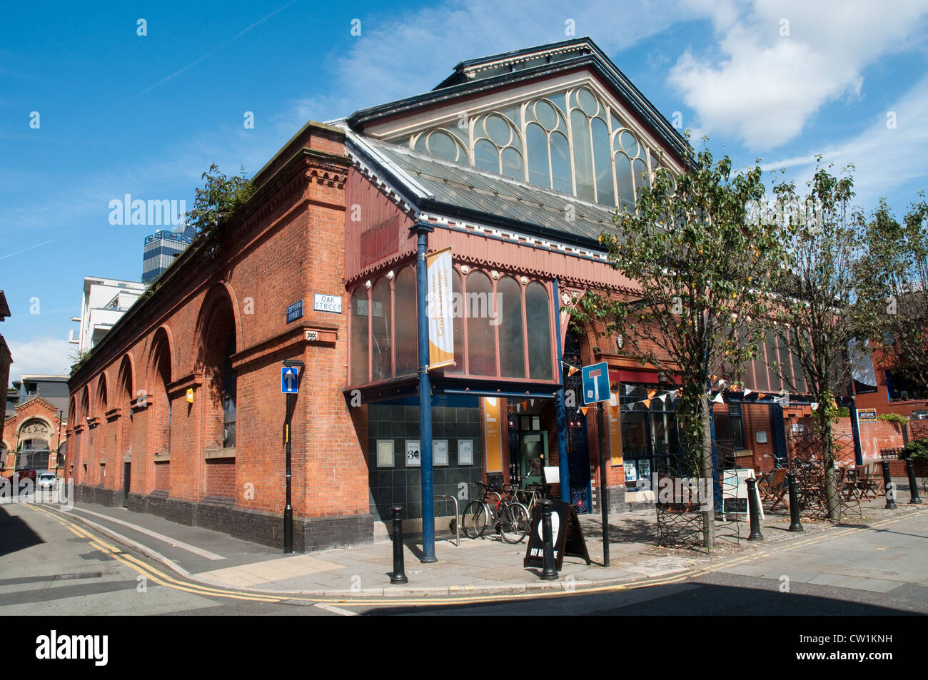 Manchester Craft and Design Centre , opened in 1982. Northern Quarter, Manchester - Stock Image