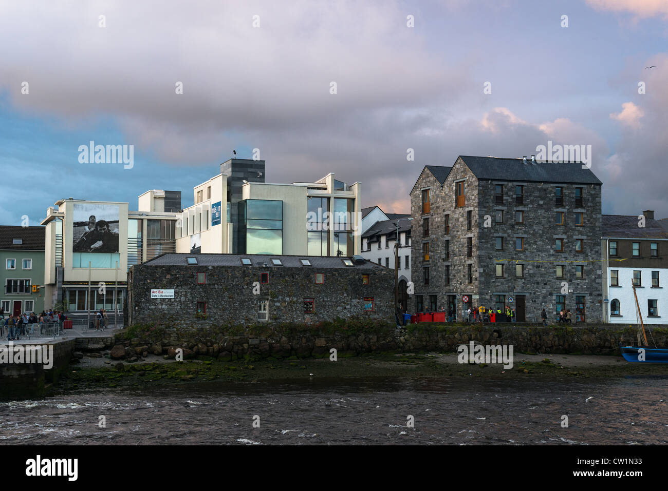Galway City Museum near the Spanish Arch and Long walk, County Galway, Ireland. - Stock Image