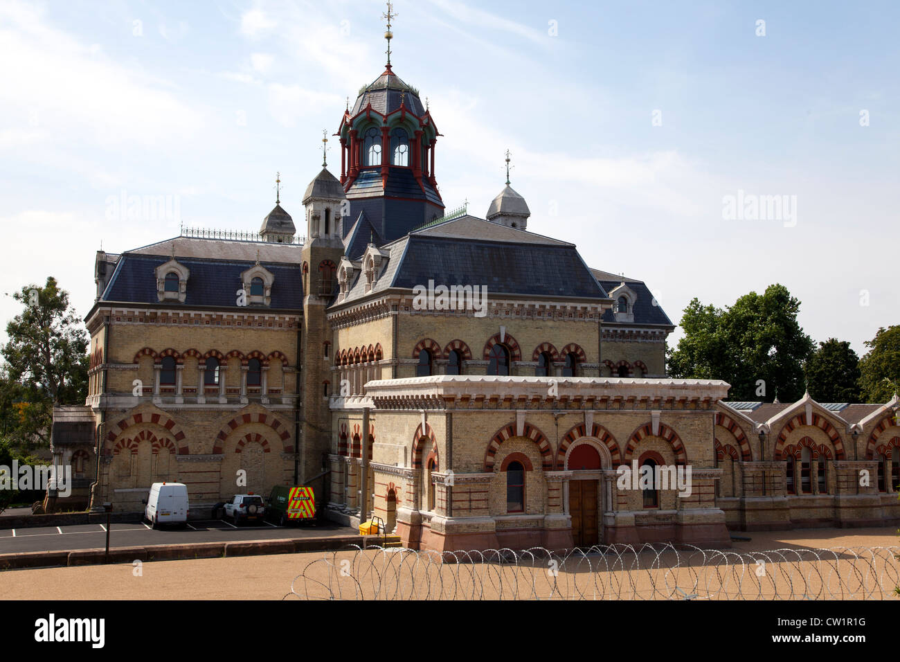 Abbey Mills Sewage Pumping Station, London, England, UK. - Stock Image