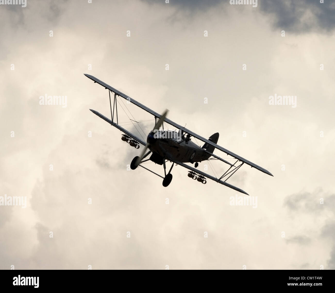 Hawker Hind bomber - Stock Image
