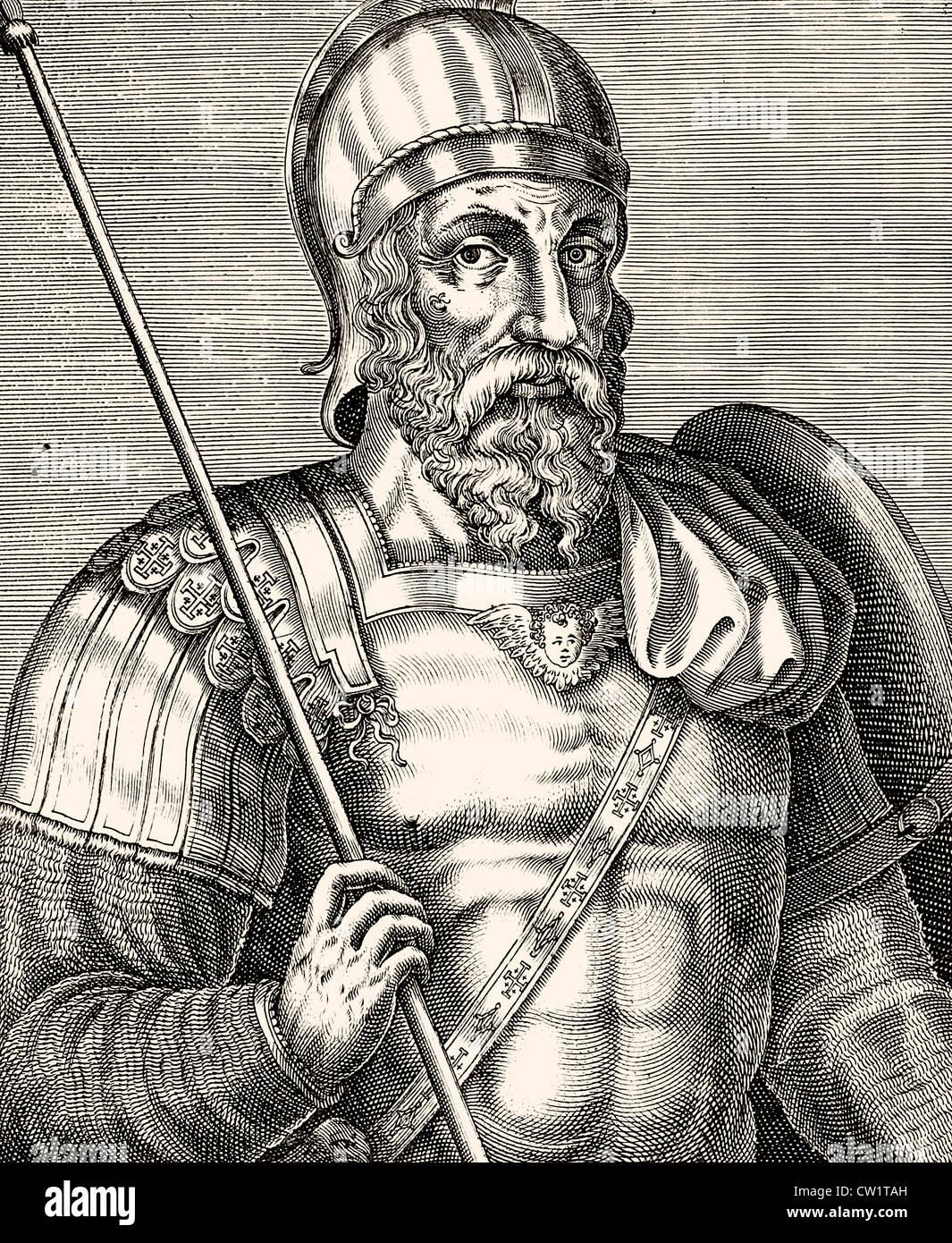 Godfrey of Bouillon Stock Photo