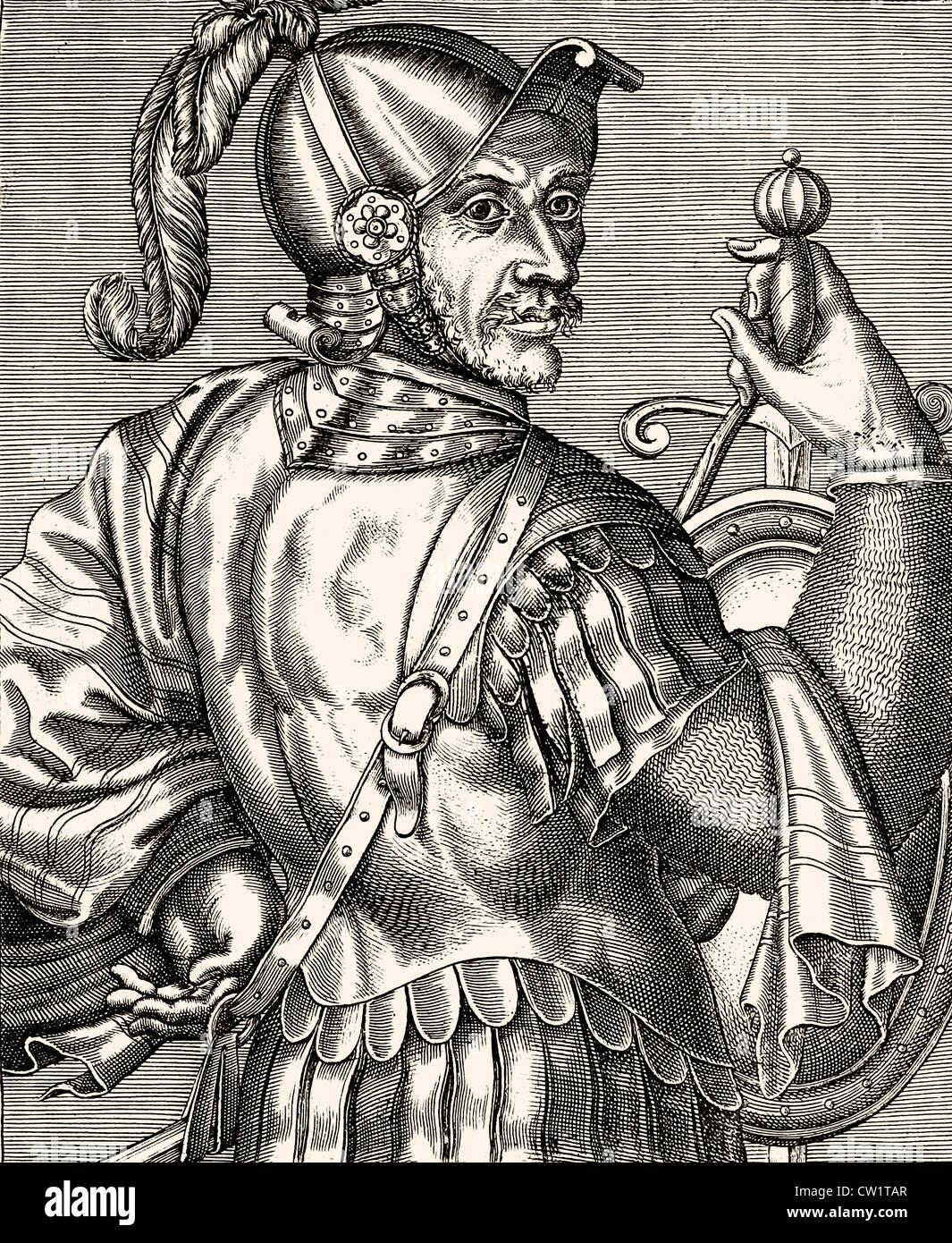 Geoffrey of Lusignan - Stock Image
