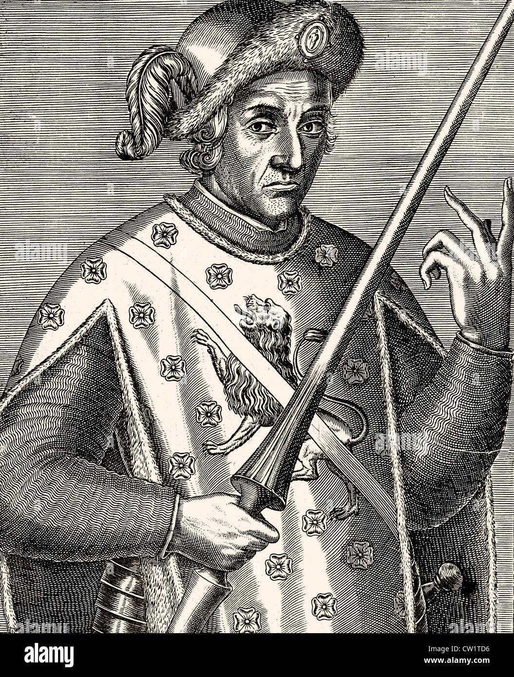 Edward Prince of Wales - Stock Image