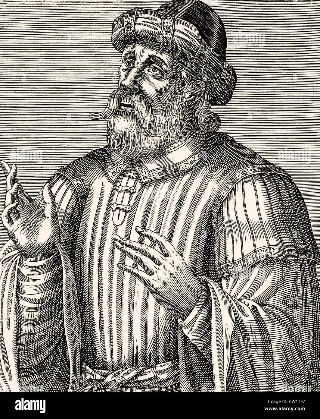 Constantine XI. Palaeologus - Stock Image