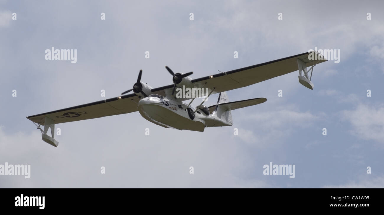 Consolidated PBY-5A Catalina flying boat - Stock Image