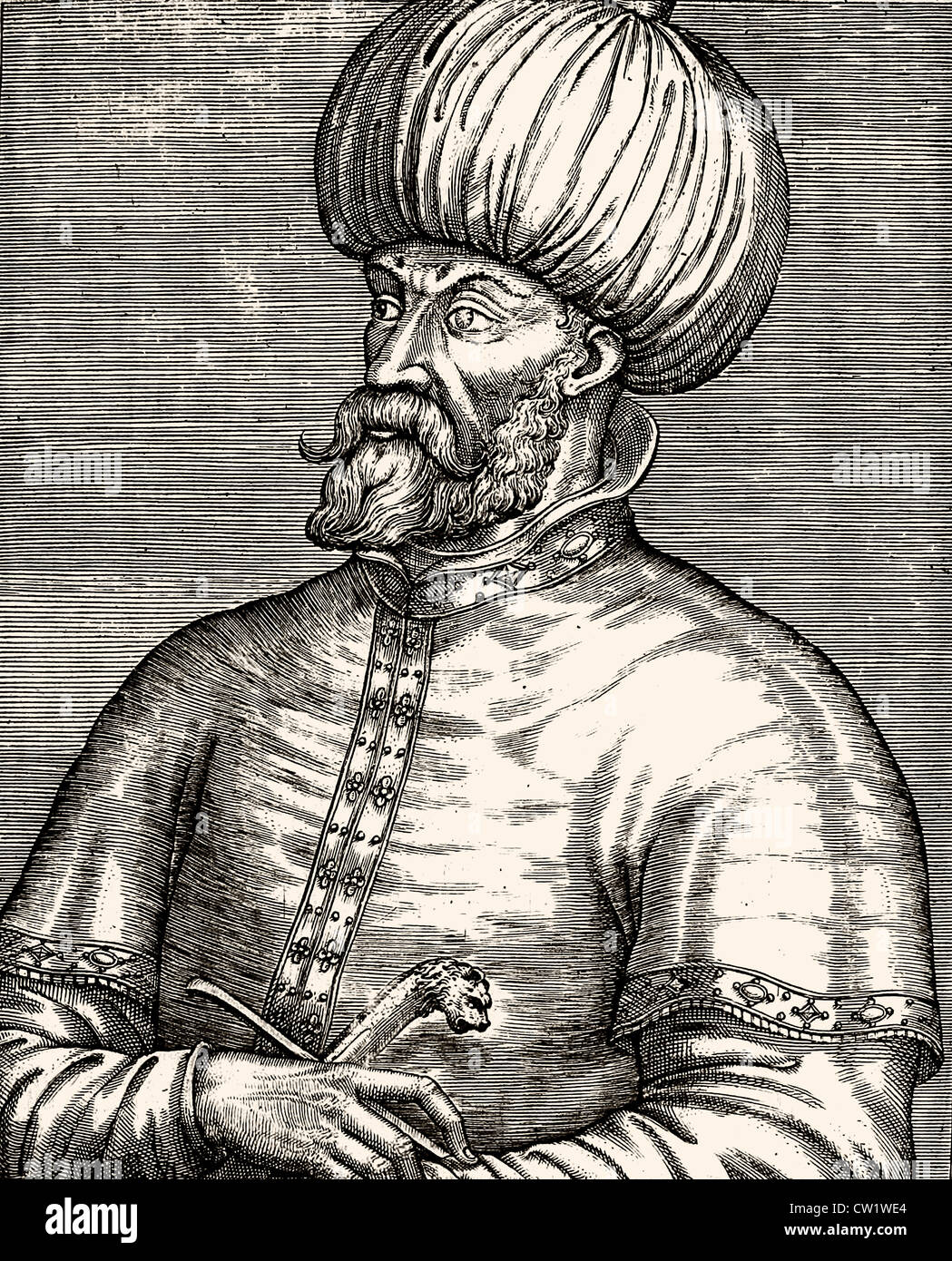 Mehmed II the Conqueror - Stock Image