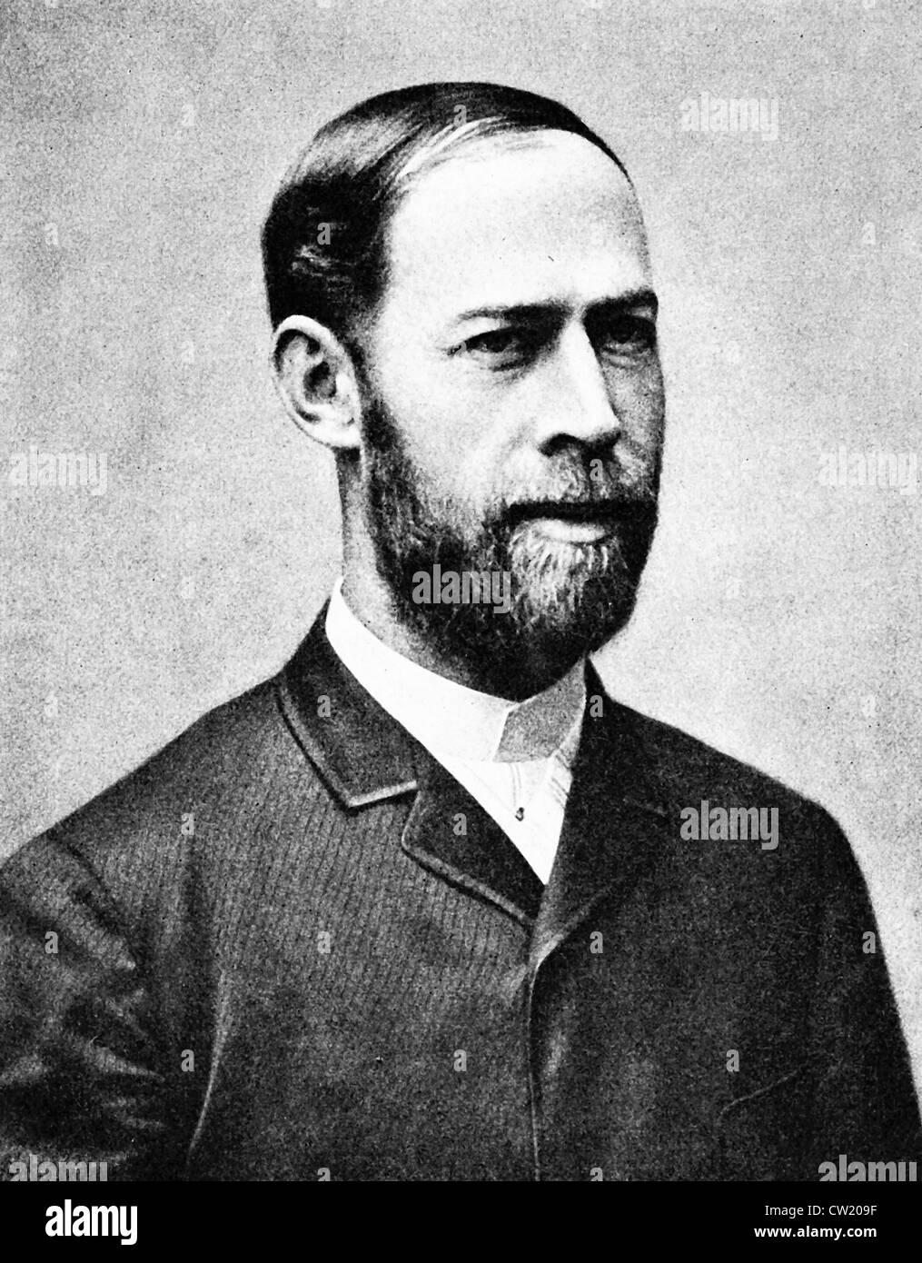 Heinrich Hertz - Stock Image