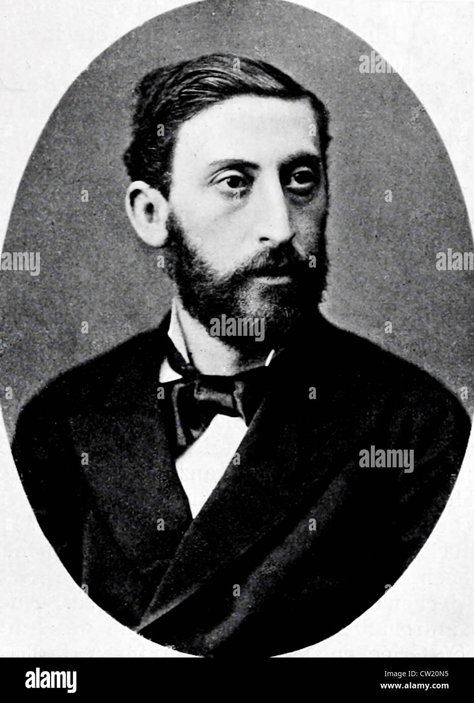 Baron Ludwig von Doczy - Stock Image