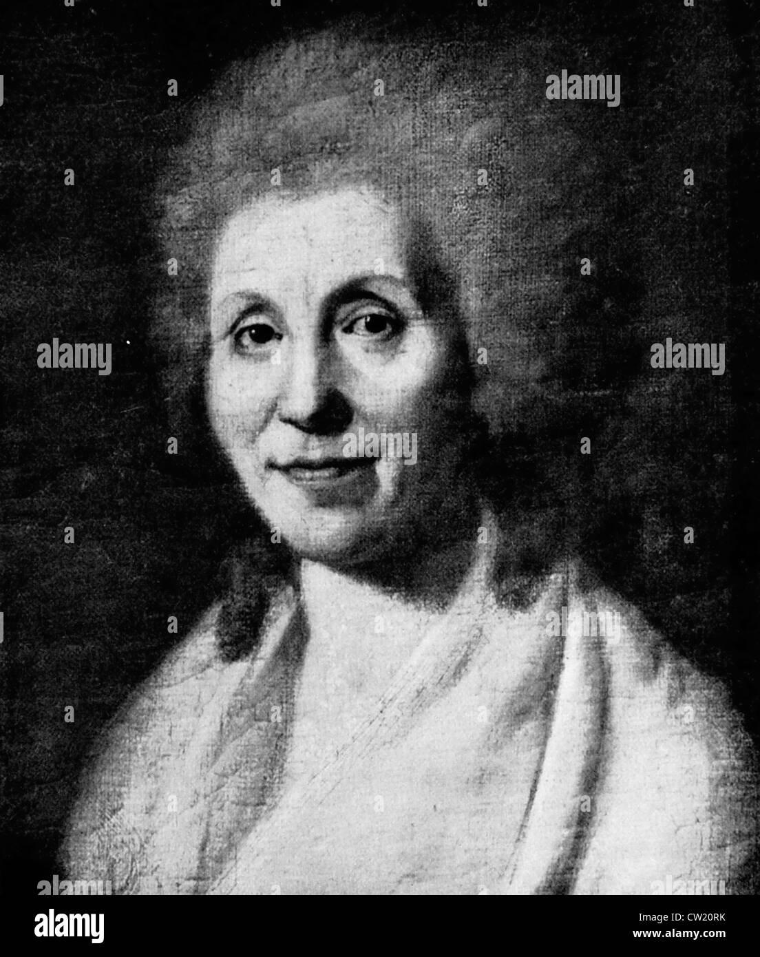 Charlotte Luise Antoinette von Schiller - Stock Image