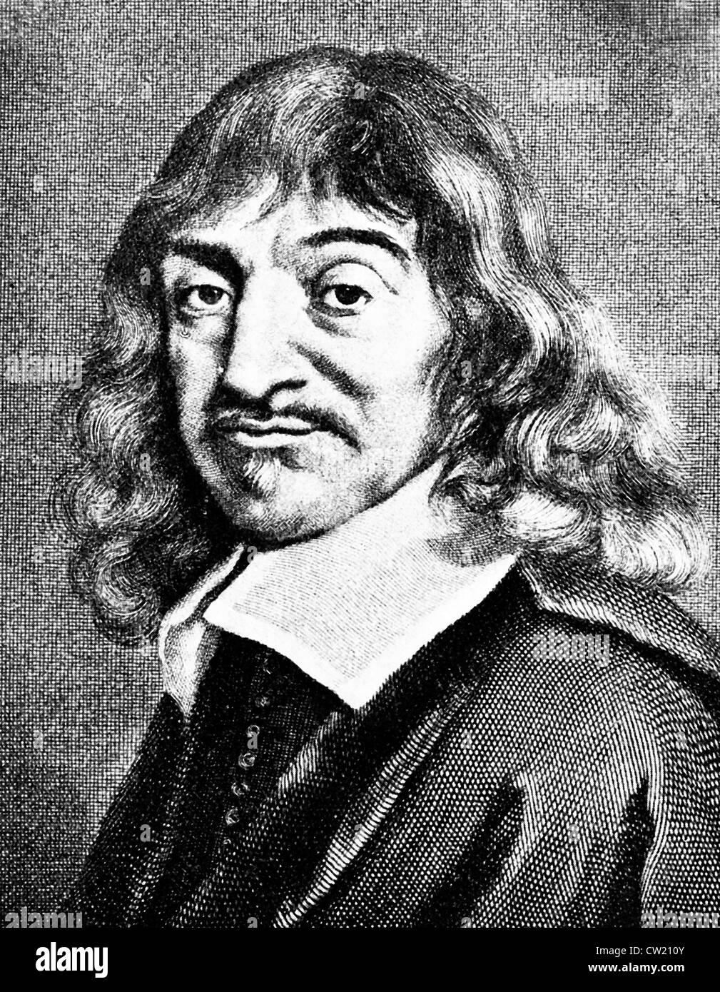 René Des Cartes, Rene Descartes Stock Photo