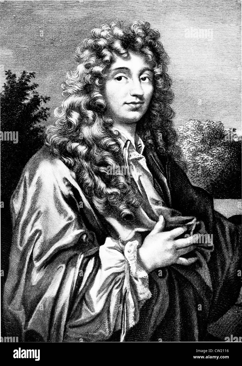 Christian Huygens, Christiaan Huygens - Stock Image