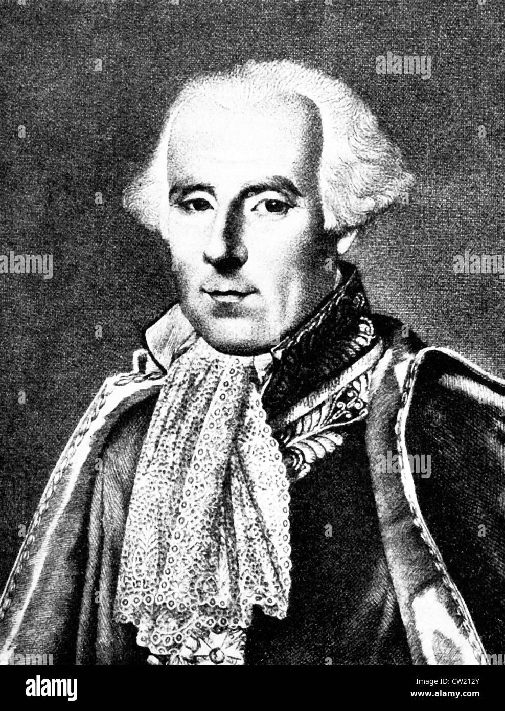 Pierre Simon Laplace, Pierre - Simon Marquis de Laplace - Stock Image