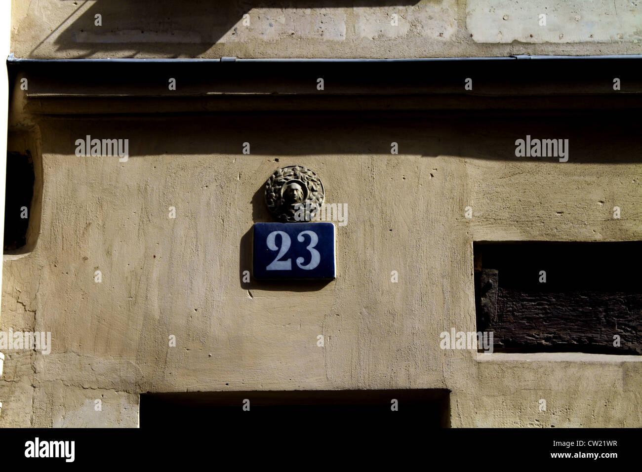 23 Paris - Stock Image