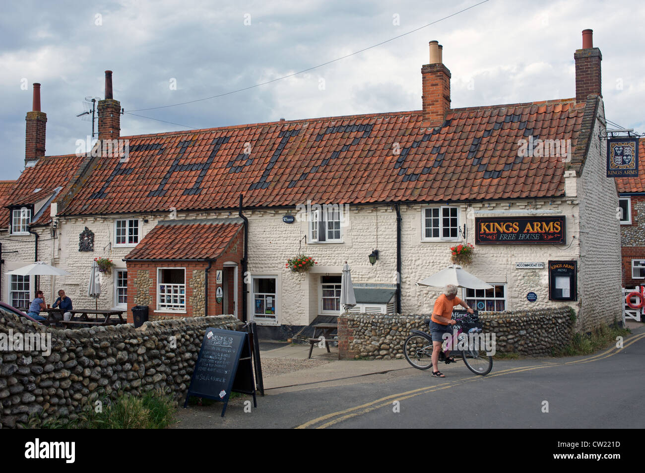 Kings Head public house, Blakeney, Norfolk, UK. - Stock Image