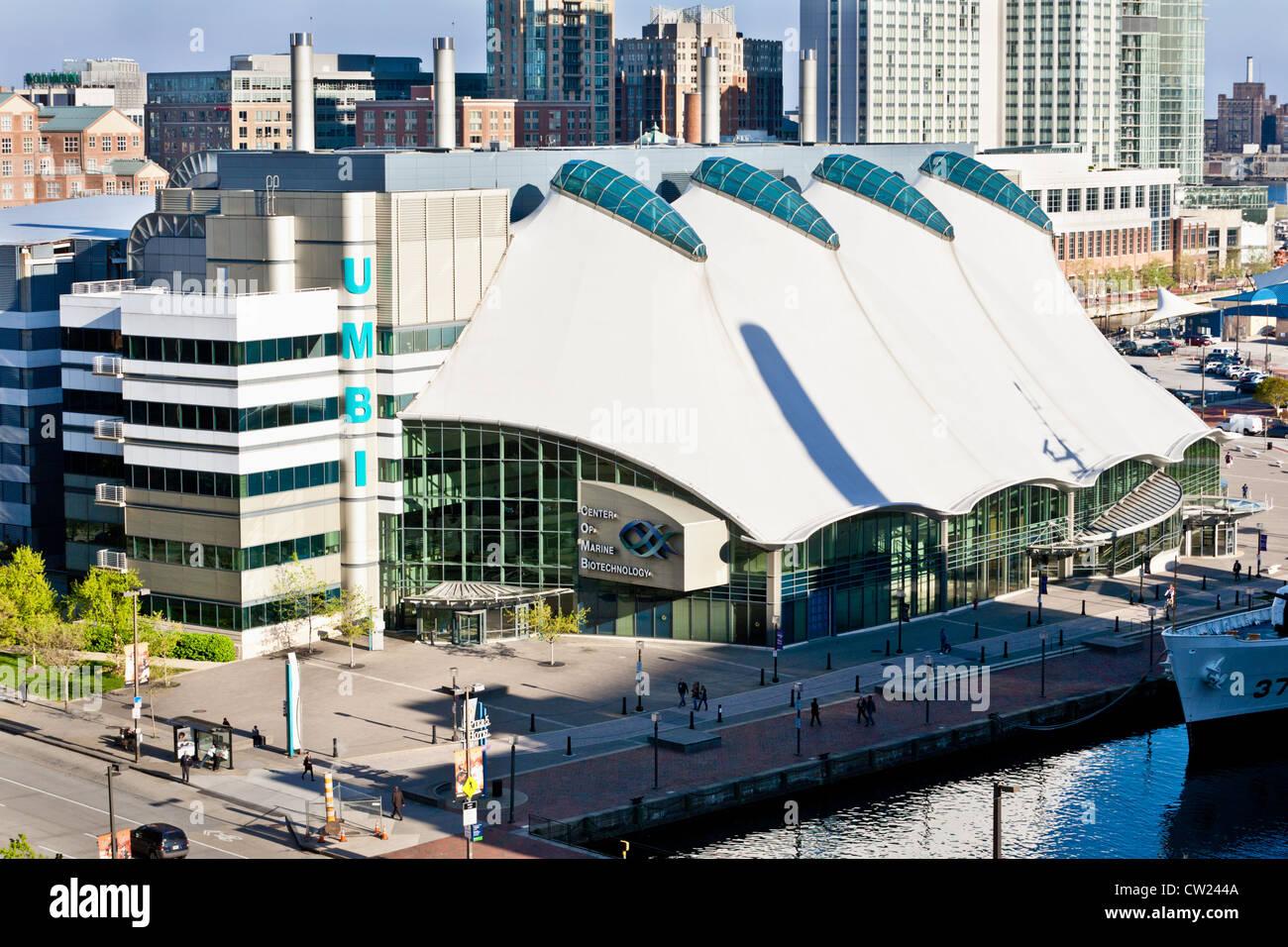 Columbus Center of Marine Biotechnology, Baltimore, Maryland - Stock Image
