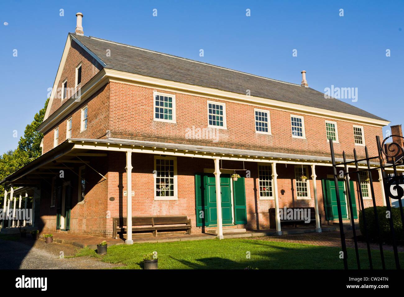 Friends Meeting House, 1784, Burlington, New Jersey - Stock Image