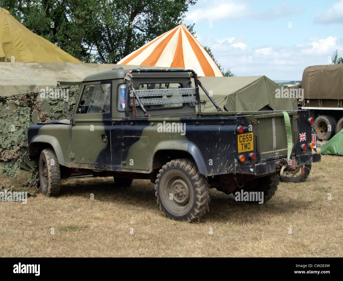 armoured land rover stock photos armoured land rover. Black Bedroom Furniture Sets. Home Design Ideas