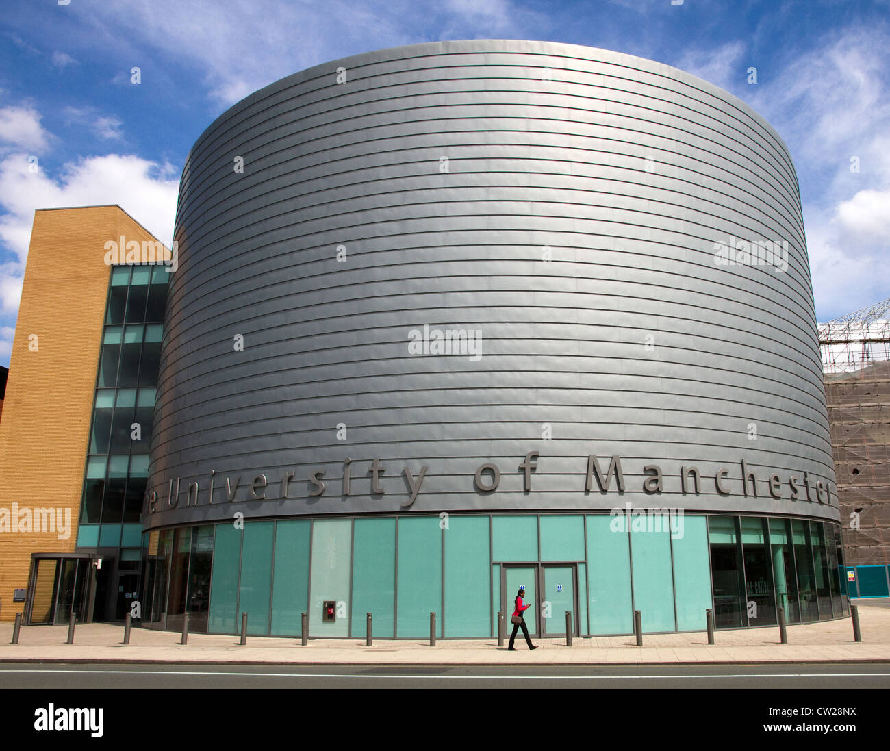The Visitors' Centre, Oxford Rd., Manchester University, UK - Stock Image