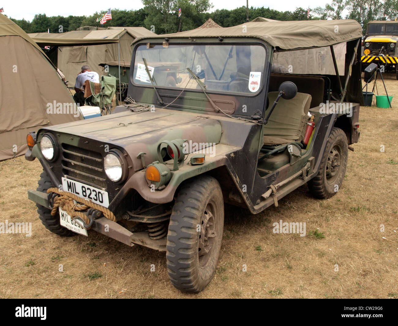 AMG M151 A2 Stock Photo
