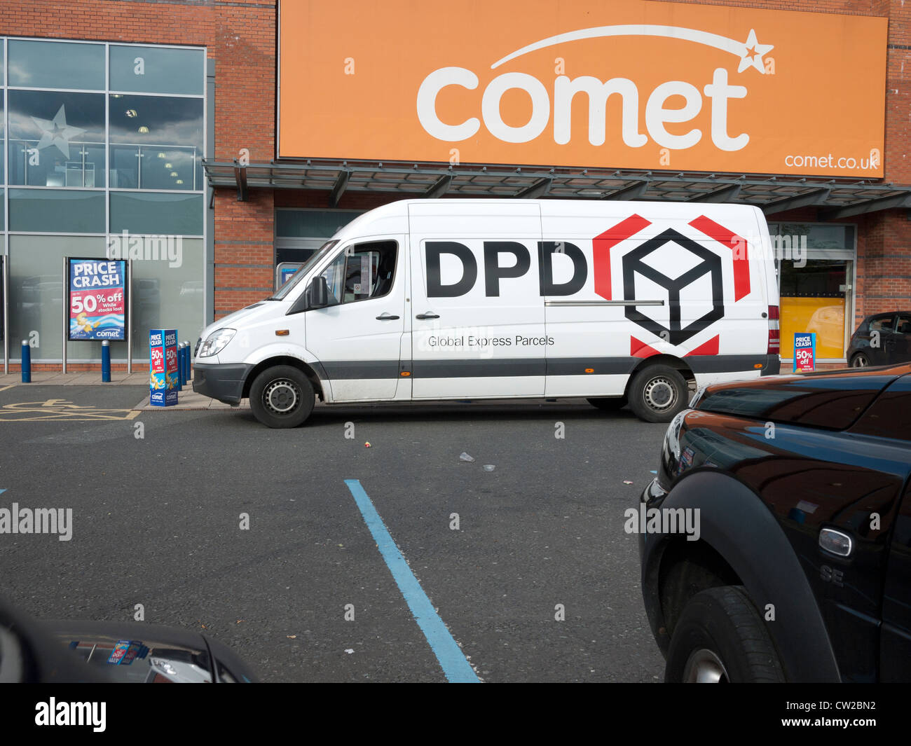 58ddeede31fcbe Dpd Parcel Delivery Van Stock Photos   Dpd Parcel Delivery Van Stock ...