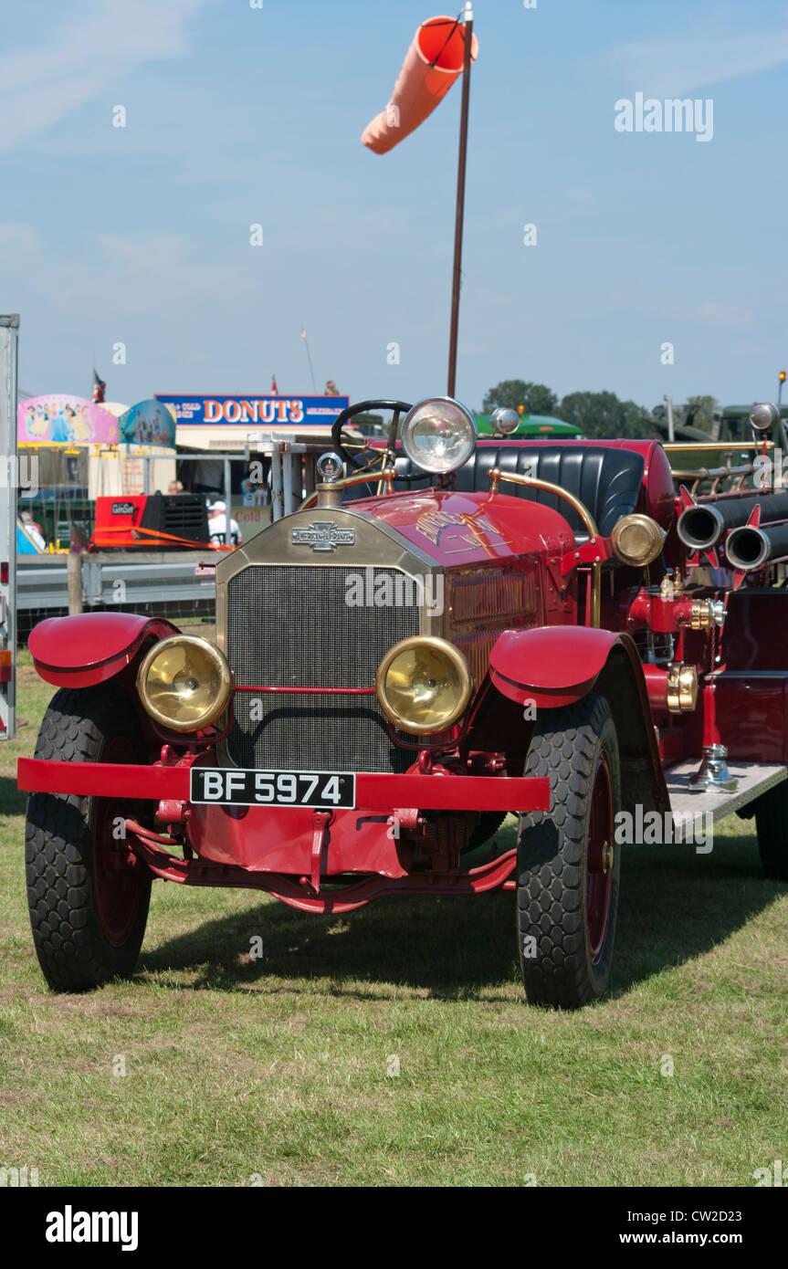 American LaFrance Veteran Vintage Fire Truck Stock Photo: 49841291 ...