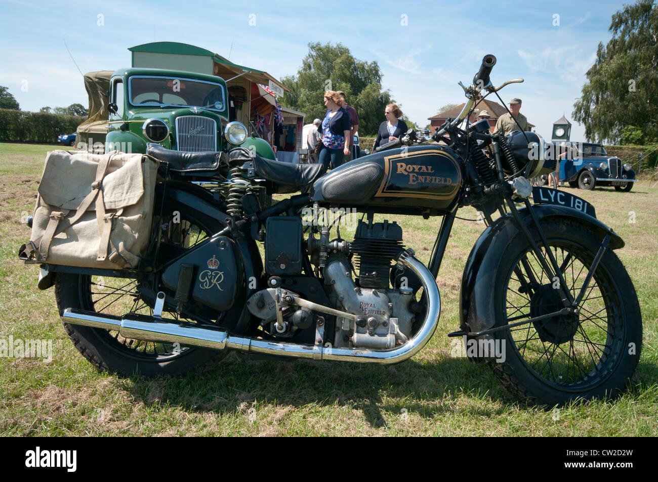 royal enfield vintage motorcycle stock photos  u0026 royal