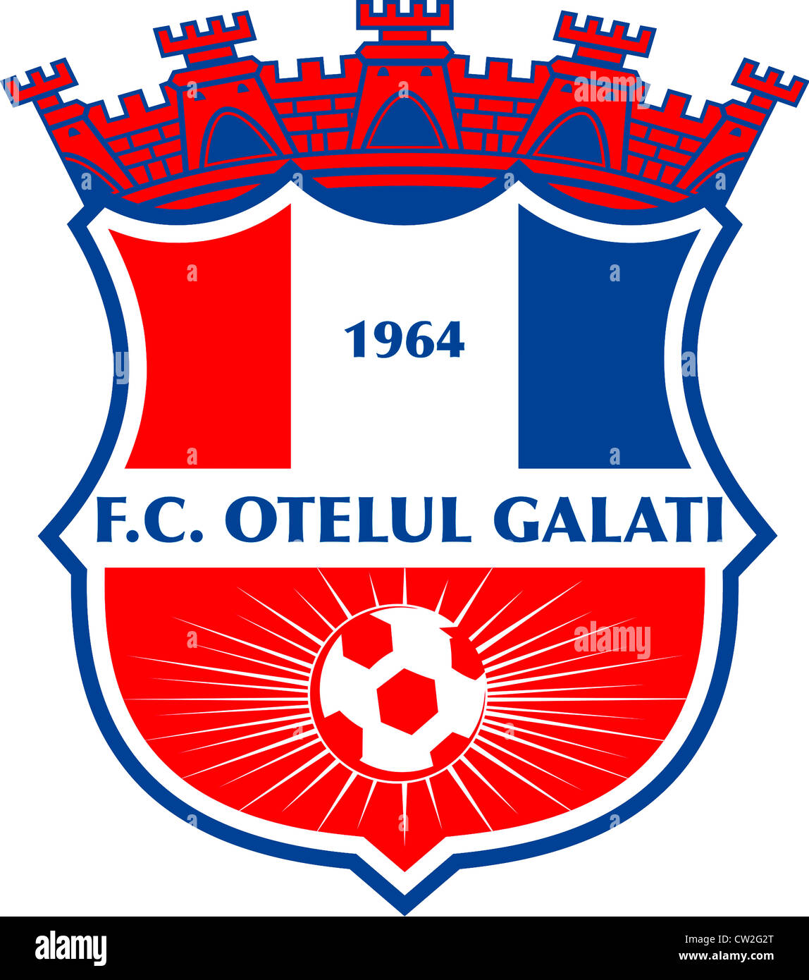 Logo Of Romanian Football Team FC Otelul Galati