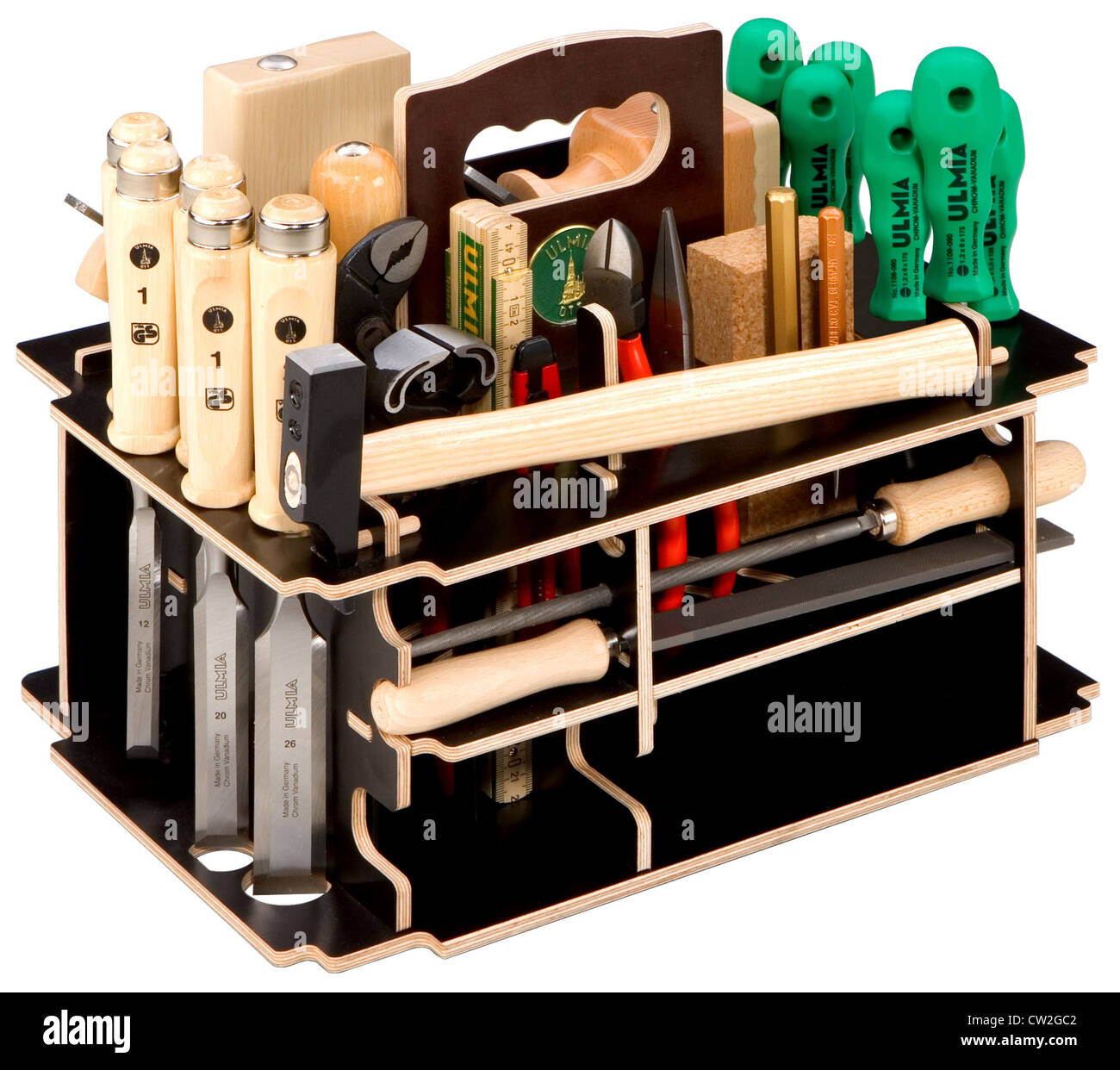 Berlin, tool kit - Stock Image
